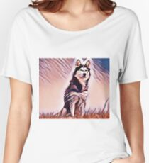 The Alaskan Malamute Women's Relaxed Fit T-Shirt