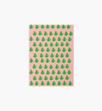 Kawaii Cactus Pattern Art Board
