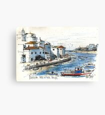 Ferragudo, Praia da Rocha, Portugal Canvas Print