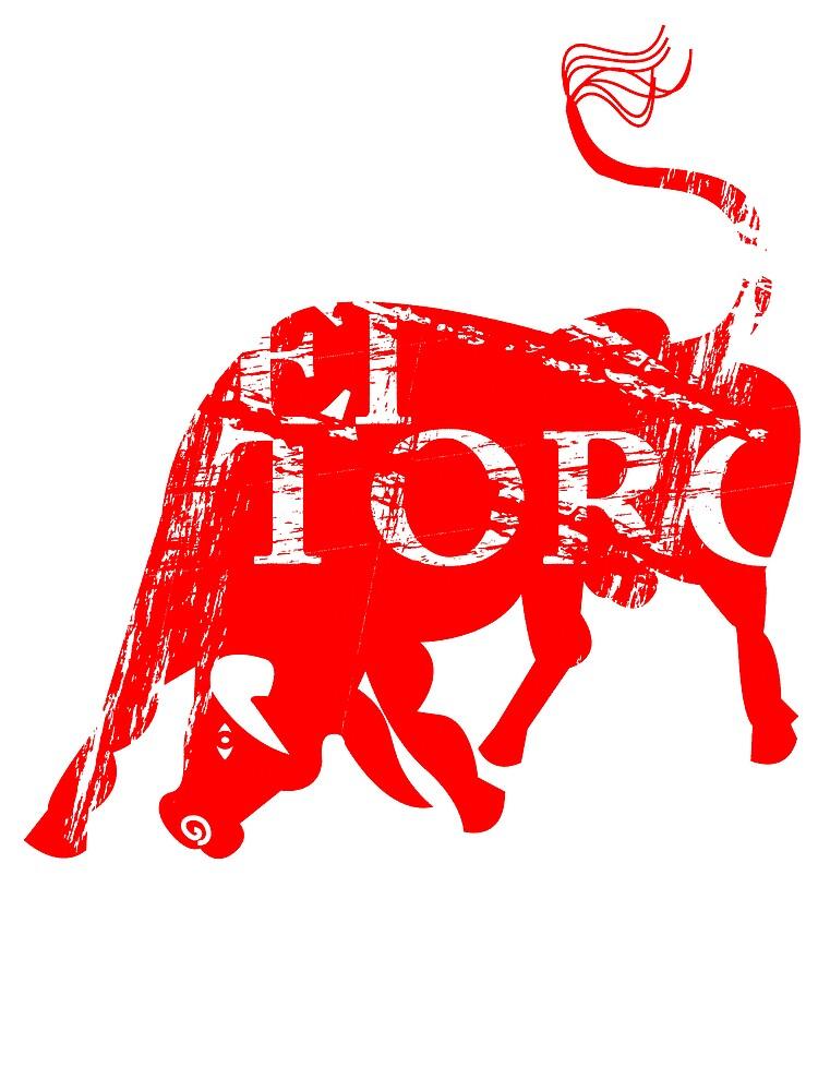 Red El Toro by stevyweevy
