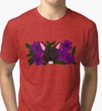 Zoe Dog Tri-blend T-Shirt