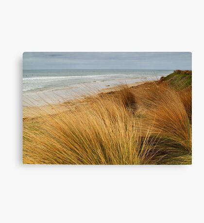 Bancora Surf Beach,Bellarine Peninsula Canvas Print