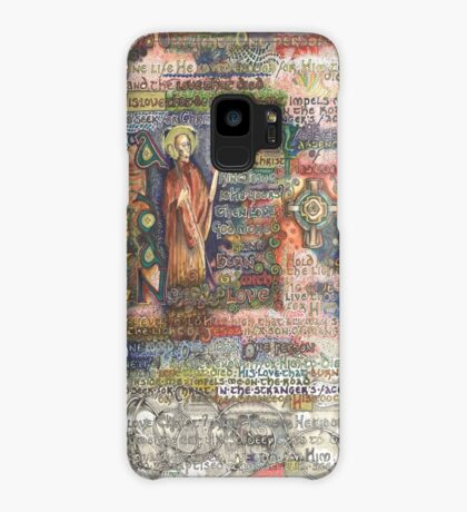 St. Aidan of Lindisfarne Case/Skin for Samsung Galaxy
