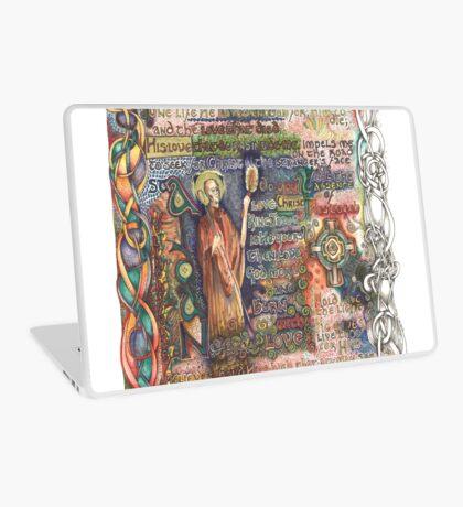 St. Aidan of Lindisfarne Laptop Skin