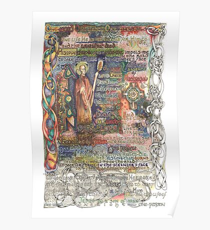 St. Aidan of Lindisfarne Poster