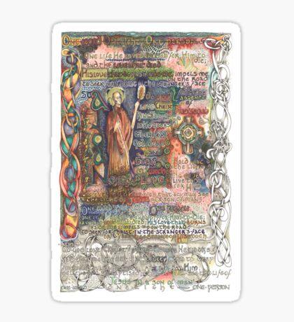St. Aidan of Lindisfarne Sticker