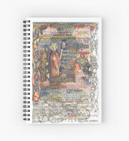 St. Aidan of Lindisfarne Spiral Notebook