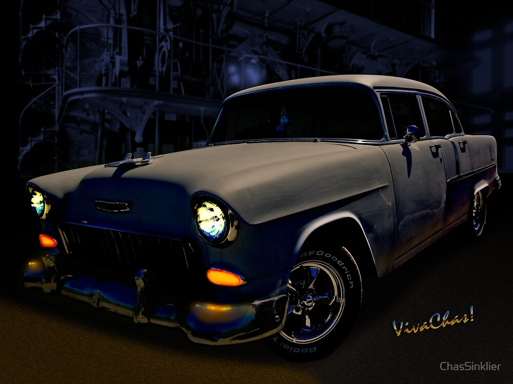 Bad 55 Chevy Rat Rod by ChasSinklier