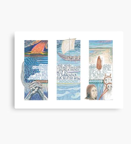 Stories of St. Aidan Canvas Print