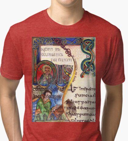 The Venerable Bede Tri-blend T-Shirt