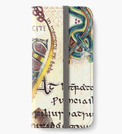 The Venerable Bede iPhone Wallet