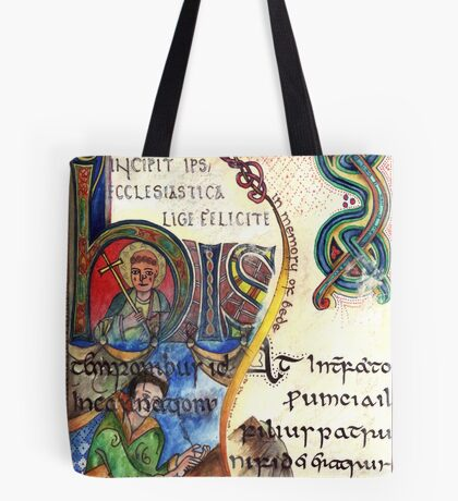 The Venerable Bede Tote Bag