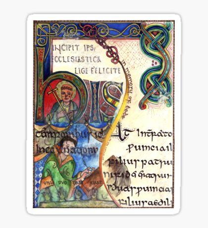 The Venerable Bede Sticker