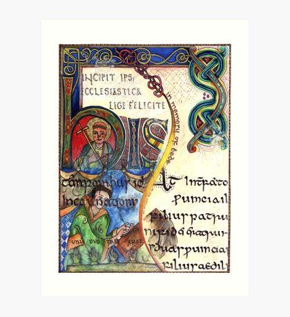 The Venerable Bede Art Print