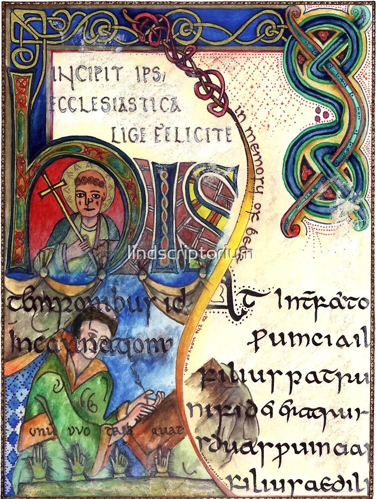 The Venerable Bede by lindscriptorium