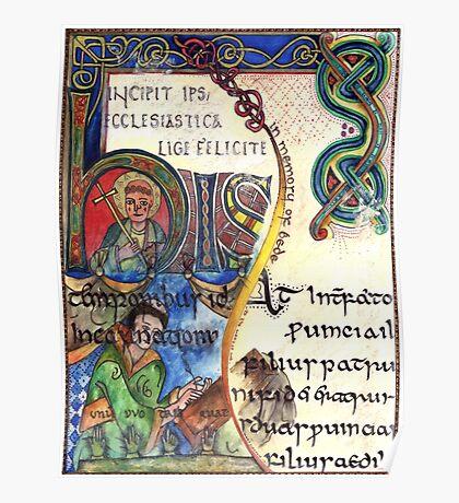 The Venerable Bede Poster