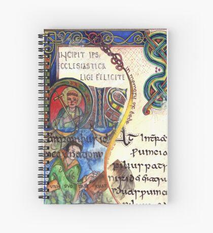 The Venerable Bede Spiral Notebook