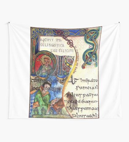 The Venerable Bede Wall Tapestry