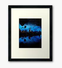 Depths Framed Print