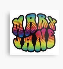 Mary Jane - 420 Metal Print