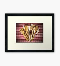 Kitchen utensil  Framed Print