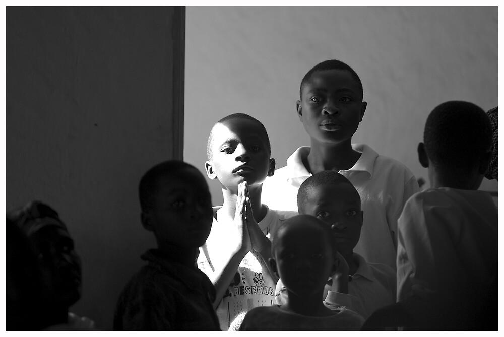 'Prayer doorway,' Northern Rwanda by Melinda Kerr