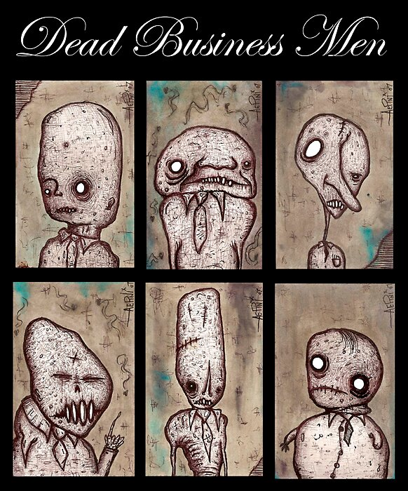 Dead Business Men by Justin Aerni