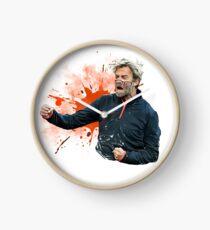 Jürgen Klopp Illustration Clock