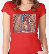 Die Wärme des Herzens Women's Fitted Scoop T-Shirt