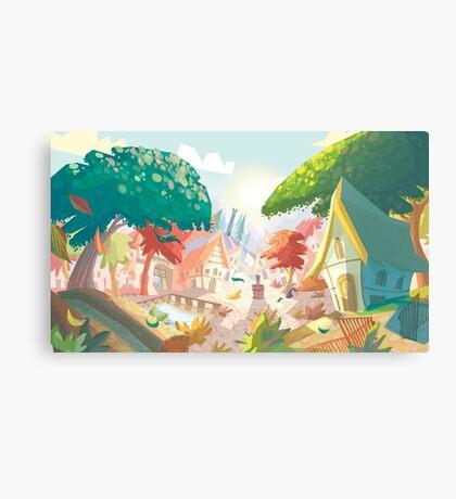 Landscape fairytale Canvas Print