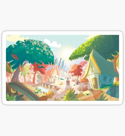 Landscape fairytale Sticker