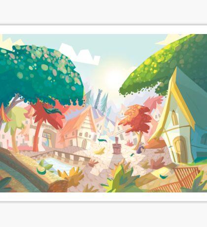 Landscape fairytale Sticker