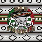 Bad Hombre Darts Shirt Full Color by mydartshirts