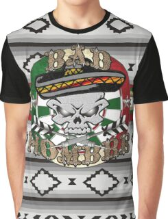 Bad Hombre Darts Shirt Full Color Graphic T-Shirt