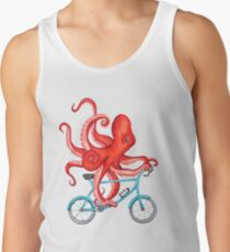 Cycling octopus Tank Top