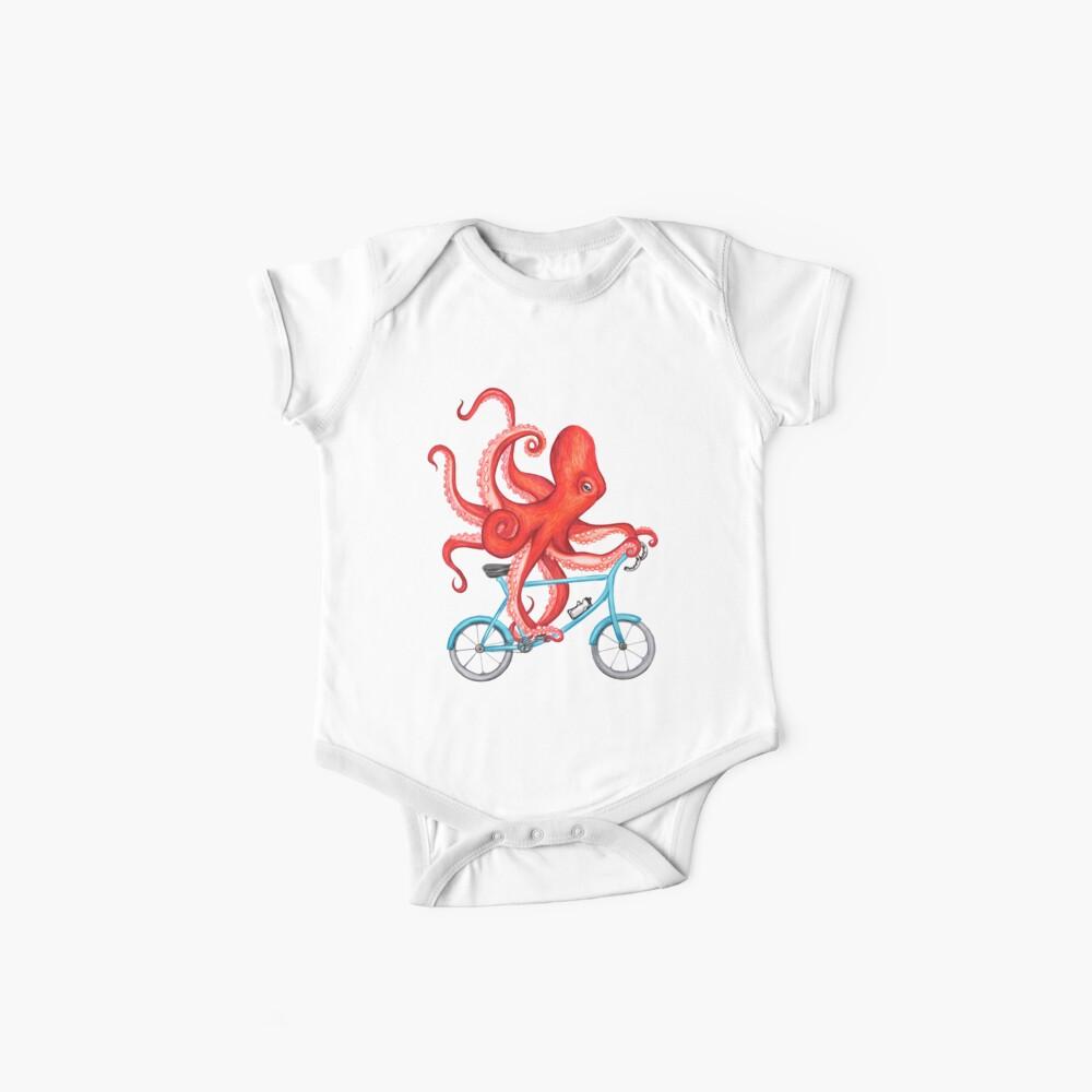 Radsport Oktopus Baby Bodys