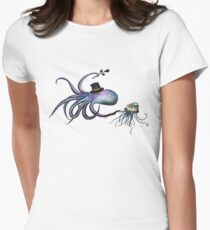 Underwater Love Womens Fitted T-Shirt