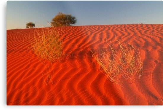 Sundown Madigan Line Simpson Desert by Joe Mortelliti