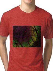 Colorful Bough Design Tri-blend T-Shirt