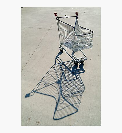 Shopping Trolly,Grovedale Geelong Photographic Print