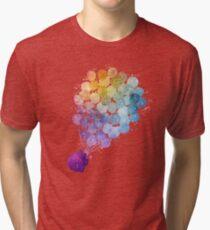 Up - Watercolor Tri-blend T-Shirt