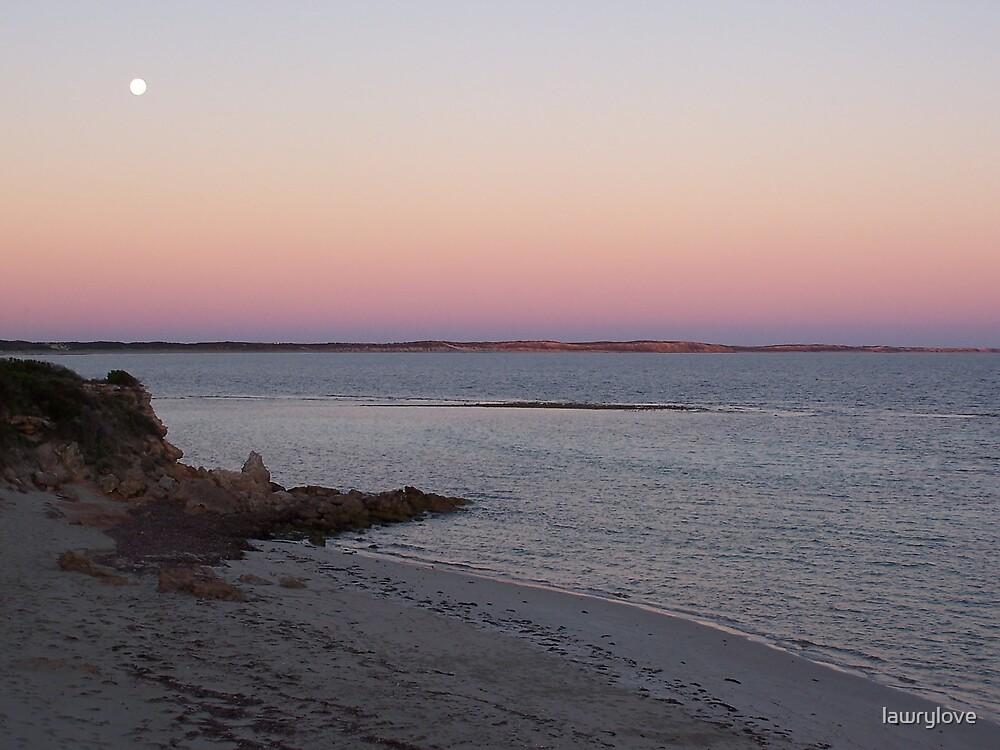moon beach by lawrylove