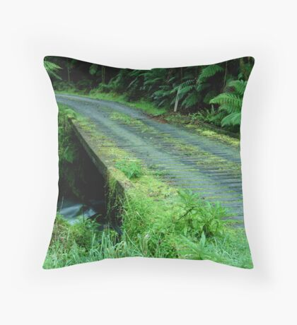 Cianco Creek,Otway Ranges Throw Pillow