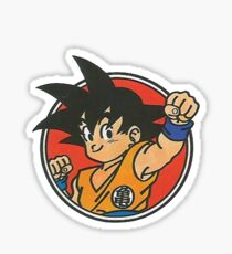 Little Goku Sticker