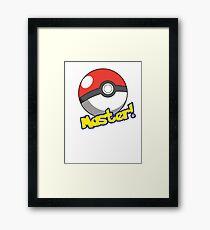 Pokémon Master Framed Print