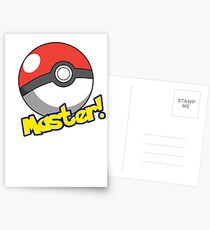 Pokémon Master Postcards