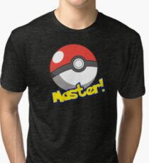 Pokémon Master Tri-blend T-Shirt
