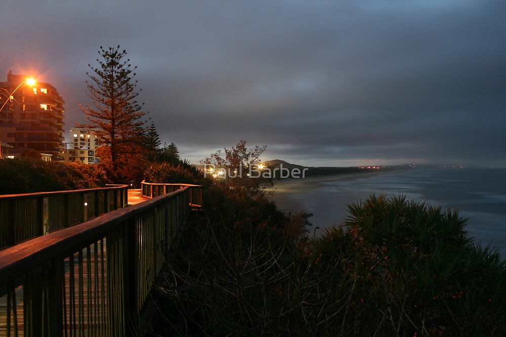 Dusk at Coolum by Paul Barber