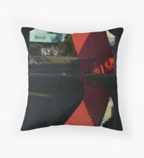 City LInk Gate Throw Pillow