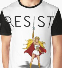 "She-Ra says ""RESIST"" Graphic T-Shirt"